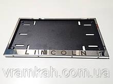 Номерна рамка для авто LINCOLN