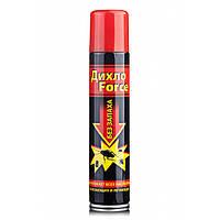 Спрей без запаха Дихло Force,уничтожает всех насекомых,ползающих и летающих,200 мл.