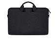 Мужская сумка портфель для документов - черный, фото 2