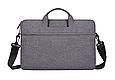 Мужская сумка портфель для документов - темно-серый, фото 3