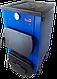 Твердотопливный универсальный котел с плитой Эталон КСТО-12П неприхотлив к топливу из стали 4 мм, фото 3