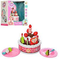 Продукты игрушечные торт и сладости.Детские игровые продукты на липучке.