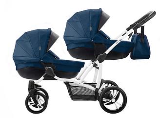 Детская коляска для двойни 2 в 1 Bebetto B 42 NEW
