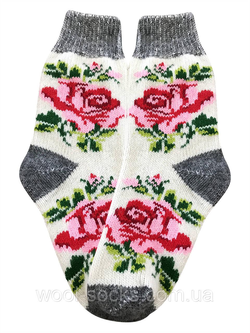 Шкарпетки вовняні теплі жіночі