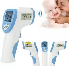Безконтактний інфрачервоний термометр Non-contact Plus, 32°C ~ 42,5°C, LCD дисплей, з пам'яттю