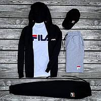 Мужской спортивный костюм FILA.Мужской спортивный комплект одежды
