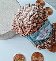Пряжа для вязания руками Ализе Пуффи файн омбре батик PUFFY FINE OMBRE BATİK 7262