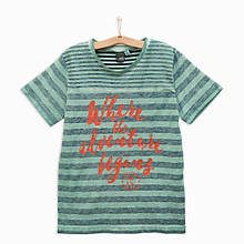 Детская футболка для мальчика iDO Италия 4.Q423 Зеленый