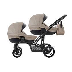 Дитяча коляска для двійні 2 в 1 Bebetto B 42 NEW