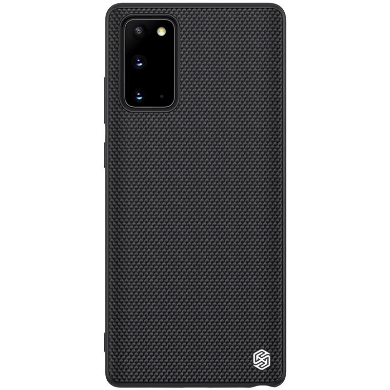 Nillkin Samsung Galaxy Note 20 Textured Case Black Чехол Накладка Бампер