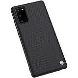 Nillkin Samsung Galaxy Note 20 Textured Case Black Чехол Накладка Бампер, фото 4