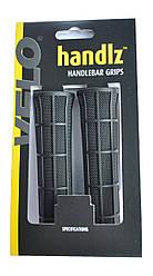 Ручки вело керма ( гріпси ) VELO VLG-975 чорного кольору / гумові