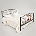 Кровать металлическая двуспальная Нимфея, фото 2