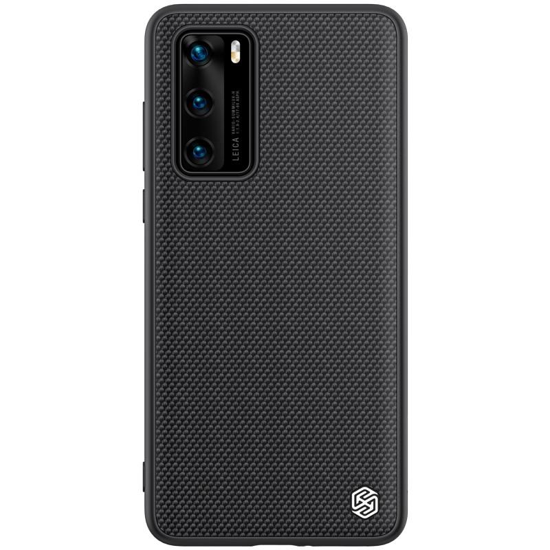 Nillkin Huawei P40 Textured Case Black Чохол Накладка Бампер