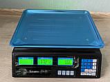 Торгові Електронні Акумуляторні Вага до 50 кг, Електронні ваги ACS 50, Підлогові ваги, фото 2