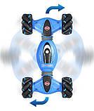 Машинка перевертиш DOUBLE-SIDED 2071 / Трюкова машинка / Машинка на радіоуправлінні 1300 мАч, фото 2