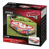 """Детский надувной бассейн Intex, 57478 """"Тачки"""" винил, рем комплект, размером 262х175х56см, 749л, от 3-х лет, фото 2"""