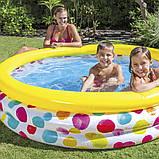 """Intex детский надувной Бассейн 58449 """"Геометрия"""" размером 168х38 см, объёмом 581 л, весом 2,1 кг, от 2-х лет, фото 2"""