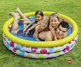 """Intex детский надувной Бассейн 58449 """"Геометрия"""" размером 168х38 см, объёмом 581 л, весом 2,1 кг, от 2-х лет, фото 3"""