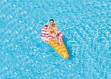 Пліт надувний Морозиво ріжок Intex 58762, матрац для плавання 224x107 см, від 12 років, фото 7