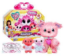 Іграшка пухнастик блукаюча зурка сім'я, набір-сюрприз Families Scruff A Luvs Няшка-блукаюча зурка сімейний набір ( Копія
