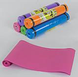 """Каремат, 5 Цветов Коврик """"Малыш Xl"""" для спорта. 1750х600х4 мм. Коврик для йоги. Туристический коврик, фото 2"""