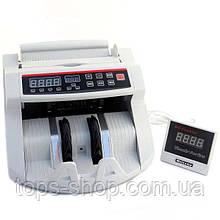 Машинка для рахунку грошей лічильник банкнот, купюр c детектором валют HLV MG2089 UV