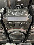 Аккумуляторная колонка чемодан Ailiang UF-1032-DT, беспроводная 10 дюймовая акустика, комбоусилитель, микрофон, фото 7