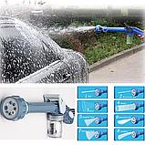 Распылитель воды, насадка на шланг, водяная пушка, водомет с отсеком для моющих средств Ez Jet Water Cannon, фото 2