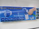 Распылитель воды, насадка на шланг, водяная пушка, водомет с отсеком для моющих средств Ez Jet Water Cannon, фото 10