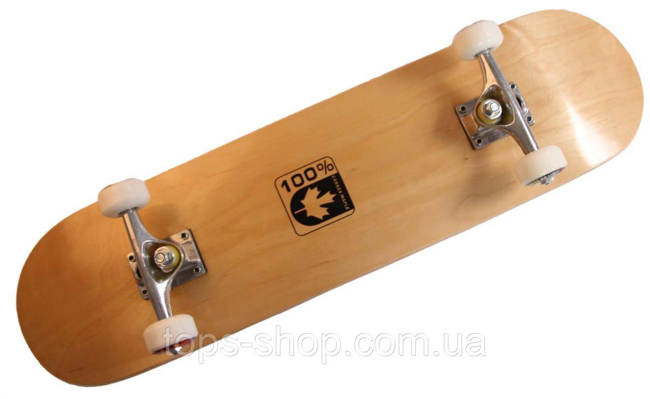 """Скейт дерев'яний, Скейтборд """" Canada 100 % натуральний канадський клен, дека 79х20 см, супер якість"""