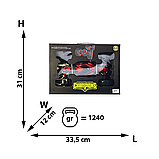 Машинка-баггі CHAMPION 2866, машинка перевертиш, всюдихід, управління від руки, код 2866 Червоний, фото 4
