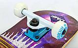 Скейт деревянный, Скейтборд, натуральный канадский клен, для трюков, Fish Skateboards - UFO-EYE, премиум!!!, фото 6