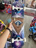 Скейт деревянный, Скейтборд, натуральный канадский клен, для трюков, Fish Skateboards - UFO-EYE, премиум!!!, фото 10