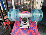 Скейт Penny Board, із широкими світлими колесами Пенні борд, дитячий , від 4 років, Рожевий, фото 4