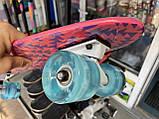 Скейт Penny Board, із широкими світлими колесами Пенні борд, дитячий , від 4 років, Рожевий, фото 10
