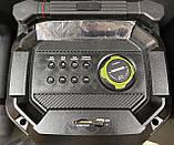 Портативна колонка з мікрофонами Temeisheng SL208-22 160W (USB/Bluetooth/Акумулятор/260W), фото 3
