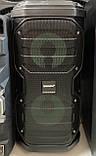 Портативна колонка з мікрофонами Temeisheng SL208-22 160W (USB/Bluetooth/Акумулятор/260W), фото 4