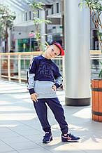 Детские спортивные штаны для мальчика TIFFOSI Португалия 10026490 Синий весеннии осенью демисезонные