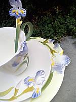 Изысканная китайская фарфоровая чашка для чая.