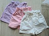 Женские стильные джинсовые шорты с высокой посадкой, фото 3