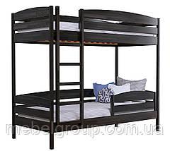 Двоярусне ліжко Дует Плюс 80х190 Щит (Без ящиків + захисний бортик), фото 2