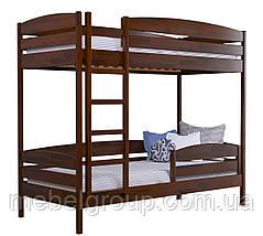 Двоярусне ліжко Дует Плюс 80х190 Щит (Без ящиків + захисний бортик), фото 3