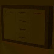 Омега Комод 2Д 4Ш