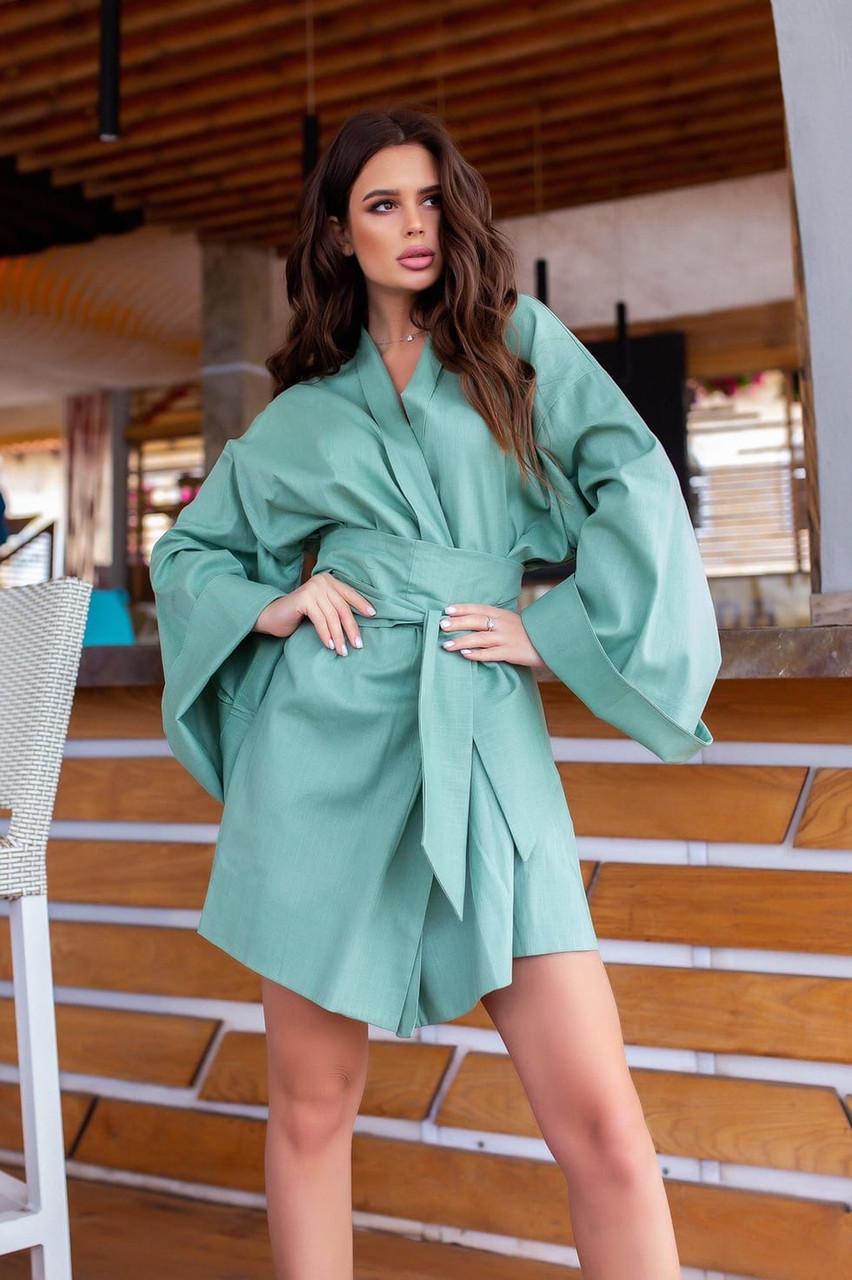 Жіноче плаття літнє плаття на запах Новинка 2020