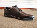 Туфли спортивные кожаные мужские 40 -45 р-р, фото 2