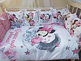 """Комплект """"Print"""" в детскую кроватку, фото 2"""