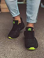 Мужские черные кроссовки, фото 1