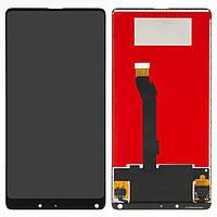 Дисплей (LCD) Xiaomi Mi Mix 2   Mi Mix Evo с тачскрином, черный, оригинал (PRC)