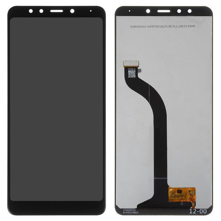 Дисплей (LCD) Xiaomi Redmi 5 з тачскріном, чорний, оригінал (PRC)